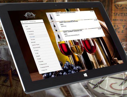 Présentez votre carte des vins sur une tablette
